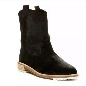 Matt Bernson Shoes - Matt Bernson Cassidy Suede Pull On Flat Boots EUC
